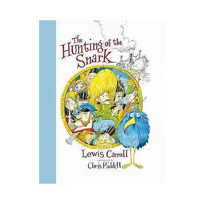 The Hunting of the Snark by Lewis Carroll (author), Chris Riddell (illustrator)