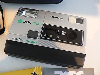 Vintage Dixons Disc 2500 Camera - WITH SEALED FILM - FANTASTIC CONDITION - New?