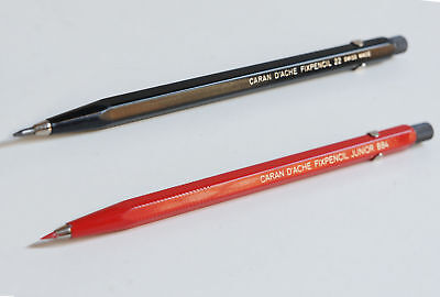 2 x Leadhorlder - Fixpencil - Caran D'ache 1960's Edition - Made in Swiss