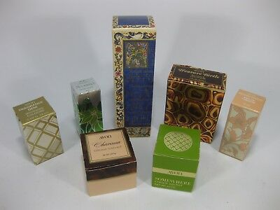 Vintage AVON Perfumes and Creams Lot of 7 in Box Some Used