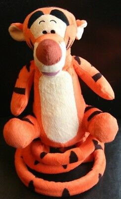 Disney Winnie the Pooh Talking Bouncing Dancing TIGGER Electronic Plush Bounce.