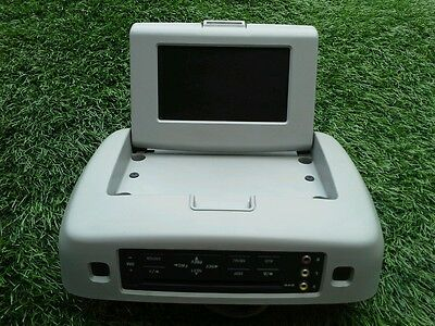 2004-2007 Ford Freestar 05-07 500 Overhead Dvd Lcd Display Gray Oem See Photo