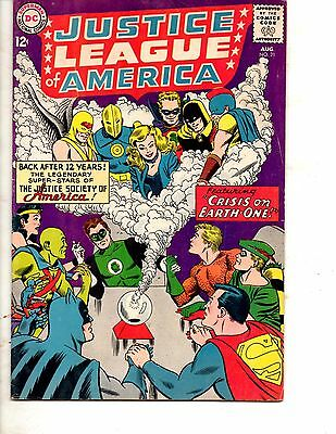 Justice League of America #21 (Aug 1963, DC)VG/ F