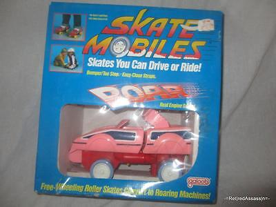 RARE 1986 Galoob Roller Skate Mobiles Child Girl Pink Car Ride or Play with