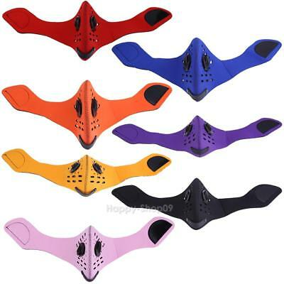 Bike Cycling Masks with Filter Dustproof MTB Bicycle Sports Face Cover v#h9