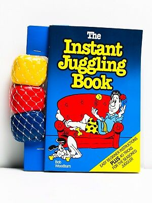 Juggling Book with 3 Juggling Balls