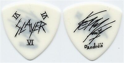 Slayer Kerry King authentic RARE 1990's concert stage tour signature Guitar Pick