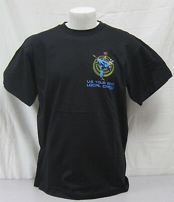 Incubus official Crew Shirt 2001 Morning View Tour NEVER WORN WASHED local large