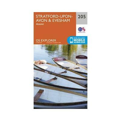 Stratford-upon-Avon & Evesham by Ordnance Survey
