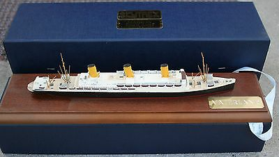"""vaterland"" Vintage Naval Miniature Series Ships In Accurate Scale In Metal"