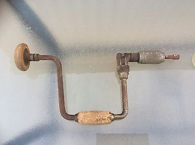 Old Vintage Hand Drill