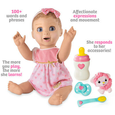 BNIB - Ready to Dispatch - LUVABELLA Interactive Doll Blonde Spinmaster Luvabeau