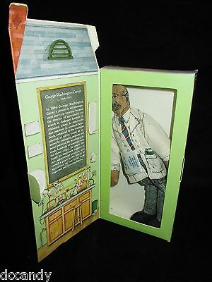 George Washington Carver Cloth Doll Hallmark Ornament 1979 Famous Americans