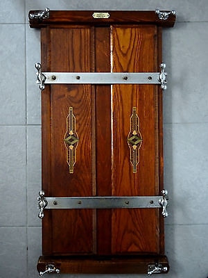 Vintage Original Barclay Norfolk Wooden Trouser Press - Collect Free