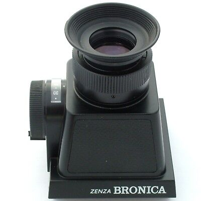 Bronica SQ CdS MF (chimney) Finder S, near mint condition