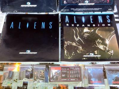 Aliens Board Game (Incomplete) + Expansion - Leading Edge Games 1989/1990