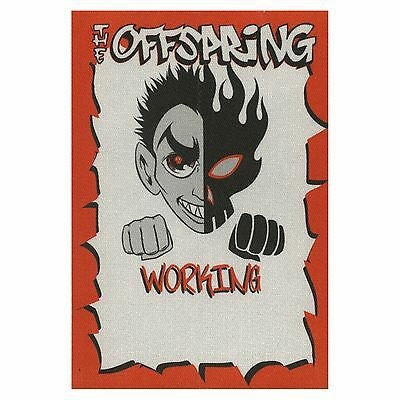 The Offspring authentic 2000 Conspiracy of One Tour satin Backstage Pass crew