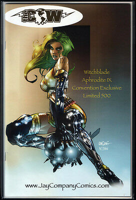 Top Cow Special Witchblade APHRODITE IX Convention Exclusive lim + JayCo COA NM+