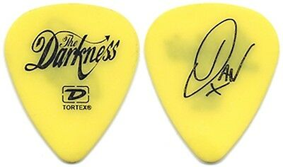 The Darkness Dan Hawkins 2004 Permission to Land tour signature band Guitar Pick