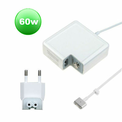MS2 60W AC Power Supply Adapter Charger for Macbook Air, Pro with EU plug