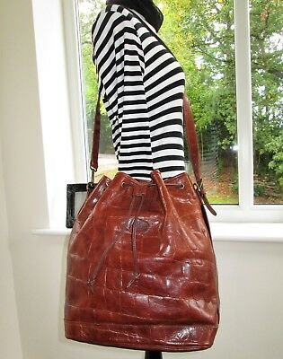 Stunning! Authentic Mulberry Brown Congo Leather Sharpham Shoulder Hand Bag