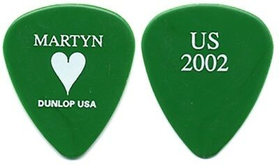 Janes Addiction Martyn Lenoble authentic 2002 U.S. tour custom stage Guitar Pick