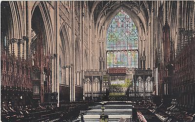 (Chaucer's The Window) ????? Cathedral Circa 1930 Postcard Valentine Series