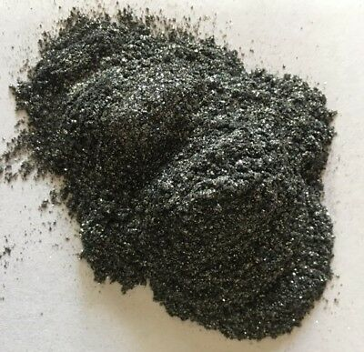 100g Resin4Art Ultra-Sparkle Metallic Pigments for Epoxy Resin: Black Pearl