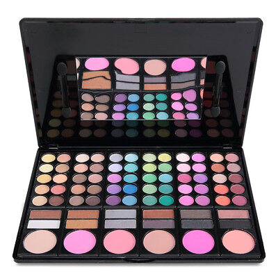 78 Colour Eyeshadow Eye Shadow Palette Makeup Set Make Up Eyeshadow Kit st#1 UK