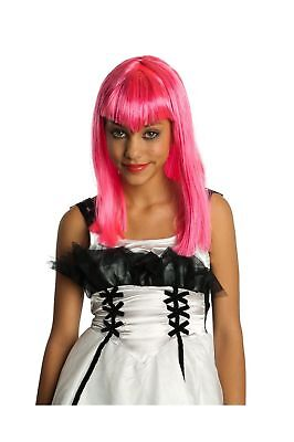 Rubies Costume Co (Canada) Child's Pink Glitter Vamp Wig