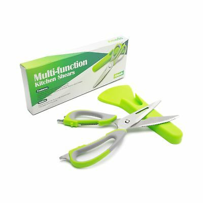 Poultry Shears Amado Multi-function Poultry Shears with Holder Magnetic Sheat...