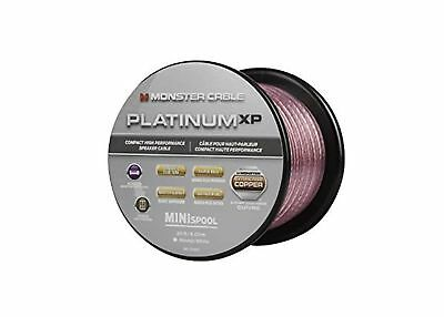 Monster Platinum XP Clear Jacket-Compact Speaker Cable MKIII 50FT