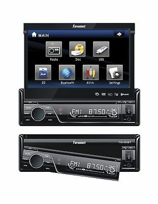 Fahrenheit TID-893 In Dash Source Unit DVD Player Single DIN with 7 - Inch To...