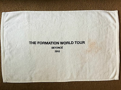 BEYONCE Formation Tour PERSONAL USED Towel VIP Package