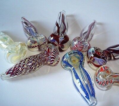 """Collectible Tobacco Smoking Pipe  3 1/2"""" - 4"""" Buy 2 Get 1 Free Glass Hand Pipes"""