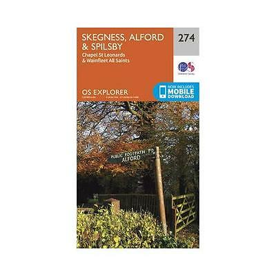 Skegness, Alford & Spilsby by Ordnance Survey