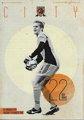12/13 Hull City v Norwich City