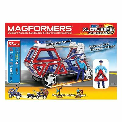 MAGFORMERS XL Cruisers Emergency Set 33
