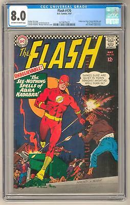 Flash #170 CGC 8.0 (OW-W) *0319875022*