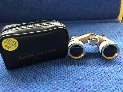 Vintage Abercrombie And Fitch Binoculars Opera Glasses