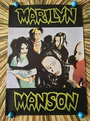 """Marilyn Manson & The Spooky Kids Rare Poster 23"""" x 32 3/4"""""""