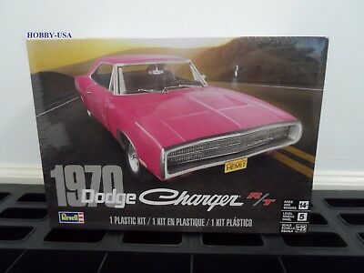Revell  4381 1/25 1970 Dodge Charger R/T  RMX4381-NEW