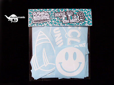 Acid House - Oldskool Rave - Decal Sticker Pack - Eclipse - Fantazia - Kinetic
