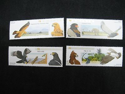 Namibia: 2009 Birds - Eagles  Set of 4 Unmounted Mint