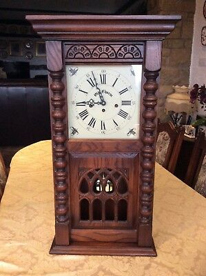 Old Charm Westminster Chime Wall Clock