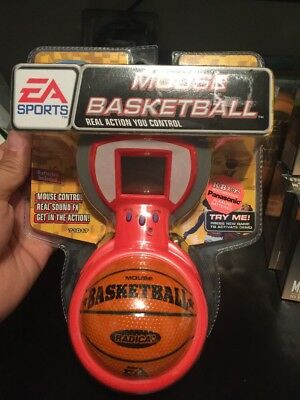 NEW VINTAGE Radica Mouse Basketball EA Sports Electronic Battery Handheld Game