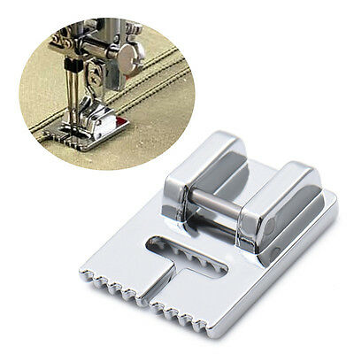 Household Electric Sewing Machine Presser Foot with Nine Grooves Tucker 710-9