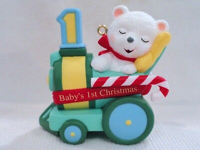 Hallmark Keepsake Baby's 1st Christmas Age Collection #1 in Series Ornament