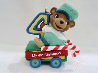 Hallmark Keepsake 4th Christmas Age Collection #4 in Series Ornament