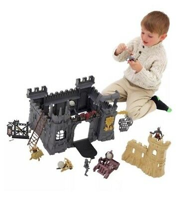 New Chad Valley Childrens Mega Castle Fort Playset Knights Toys Play Set Kids